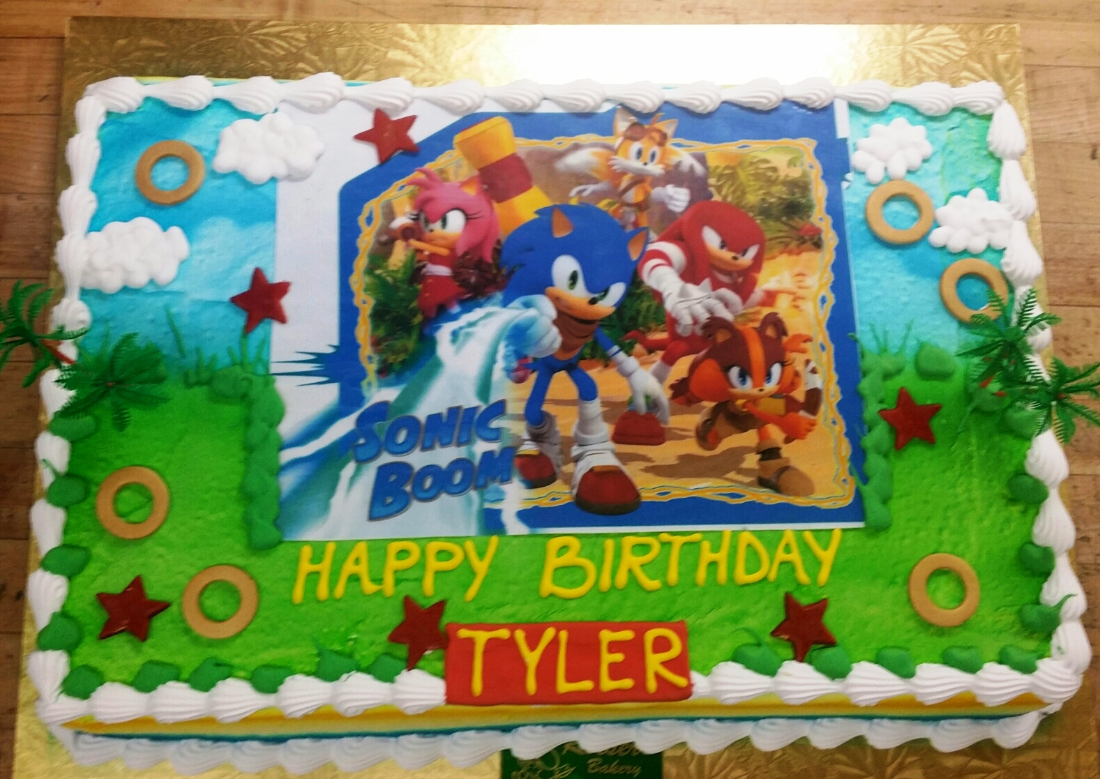 Sonic The Hedgehog Roeser S Bakery Of Chicago